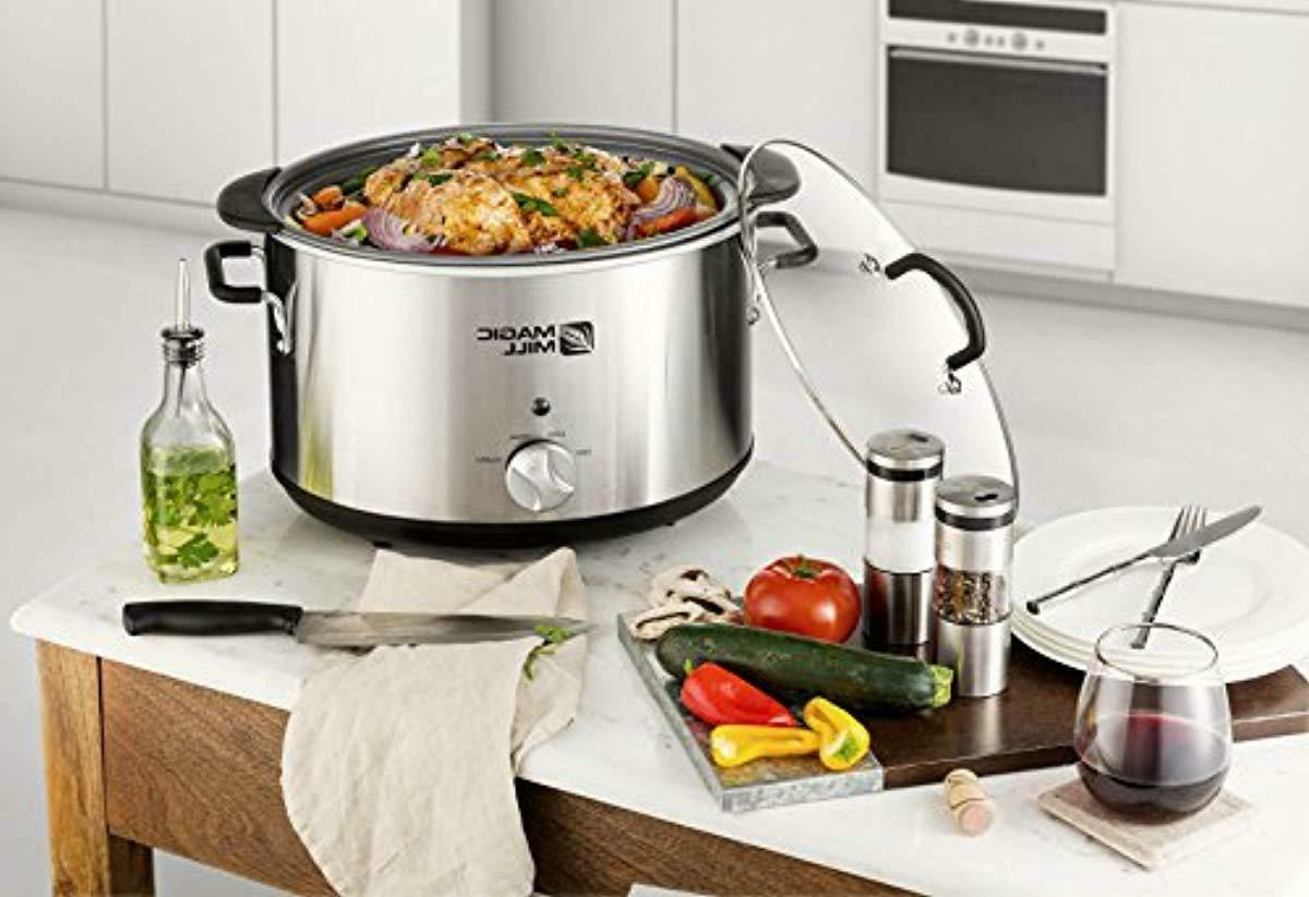 Magic Mill 10 Quart Slow Heat Removable Stainless