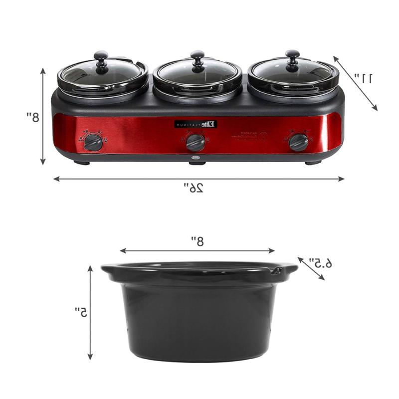 Maxi-Matic Triple Cooker, 7.5
