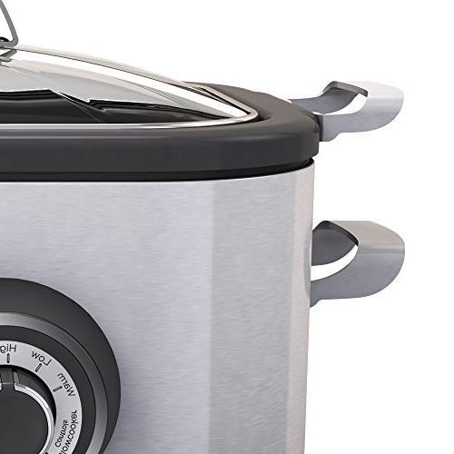 BLACK+DECKER Multi Cooker, 6.5 Steel