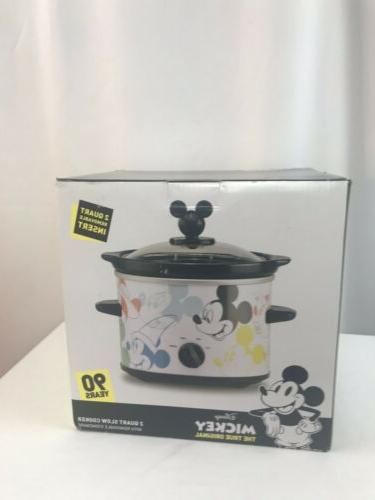 mickey mouse 90th anniversary slow cooker crockpot