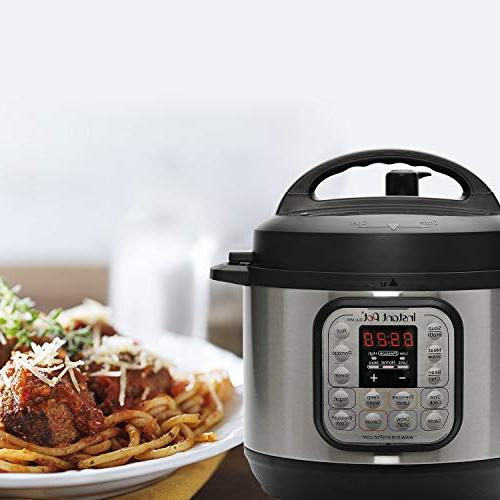 Instant 3 7-in-1 Multi- Use Programmable Cooker, Slow Cooker, Steamer, Saute, Maker and Warmer