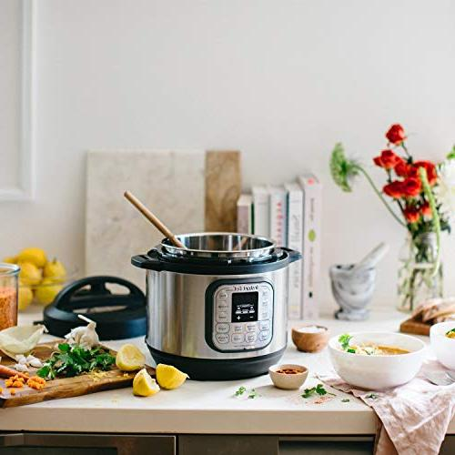 Instant Pot Duo 3 Qt 7-in-1 Use Slow Cooker, Rice Cooker, Steamer, and Warmer