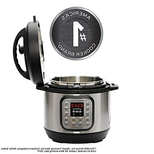 Instant Duo 3 7-in-1 Use Pressure Slow Cooker, Steamer, Yogurt and