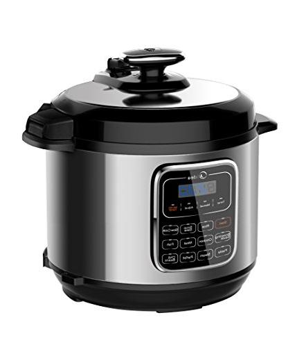 6-Quart Electric Stainless