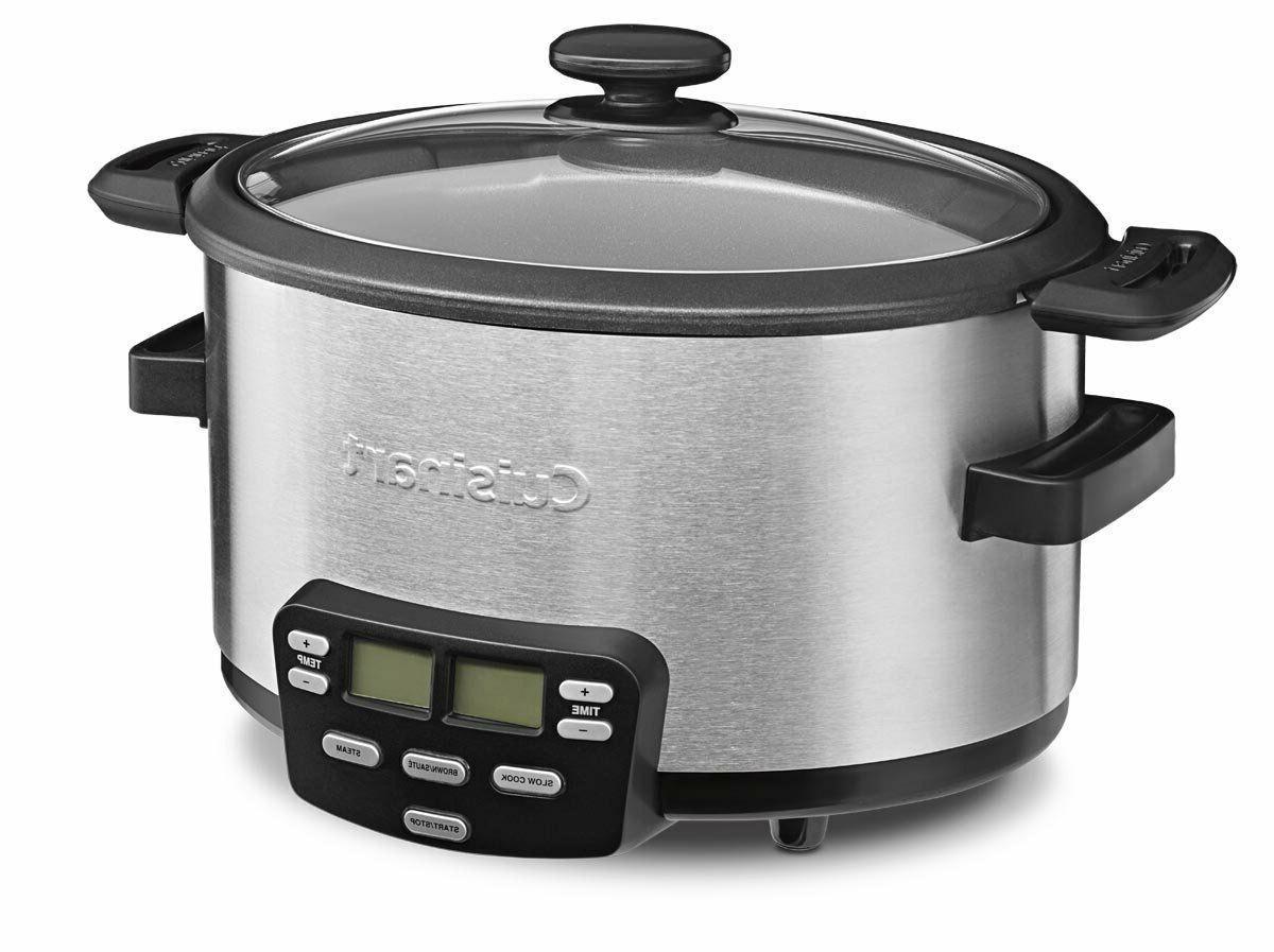 MSC-400 4-Quart Multi-Cooker: Cooker, Brown/Saute
