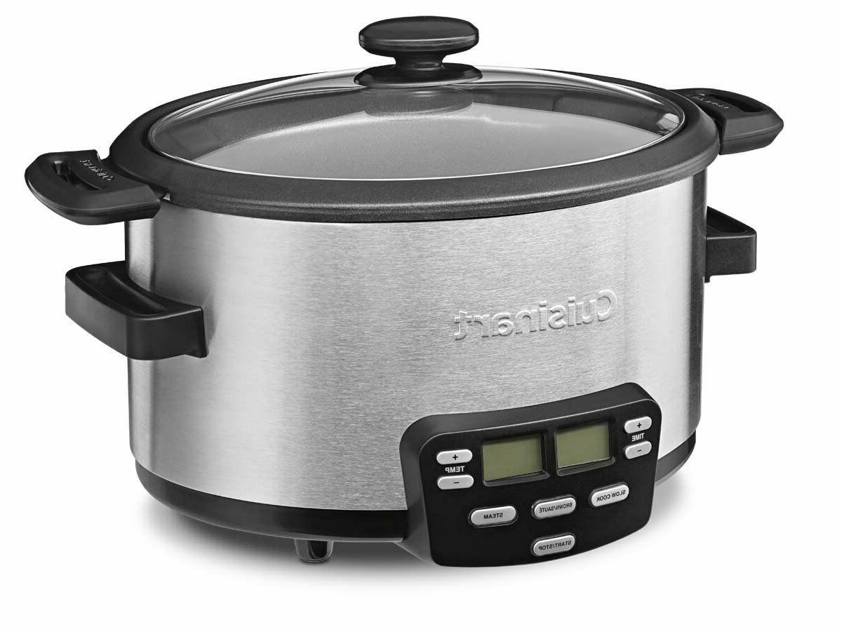 MSC-400 3-In-1 4-Quart Multi-Cooker: Slow Brown/Saute