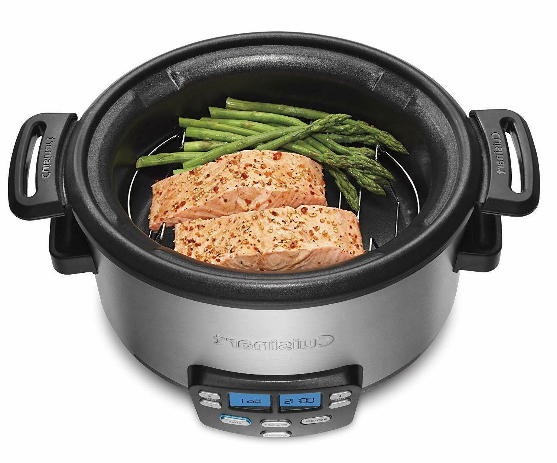 MSC-400 Central 4-Quart Multi-Cooker: Slow Brown/Saute