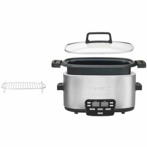 Cuisinart MSC-600 3-In-1 Central 6-Quart Cooker