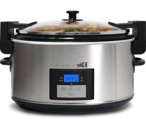 mst 900vxd steel slow cooker 8 5