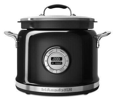 Kitchenaid Multi Cooker Kmc42410b 4 Qt Cooking System Onyx Black