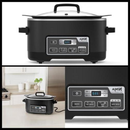 Multi-Cooker Plus 1 Cooker Top and Steamer