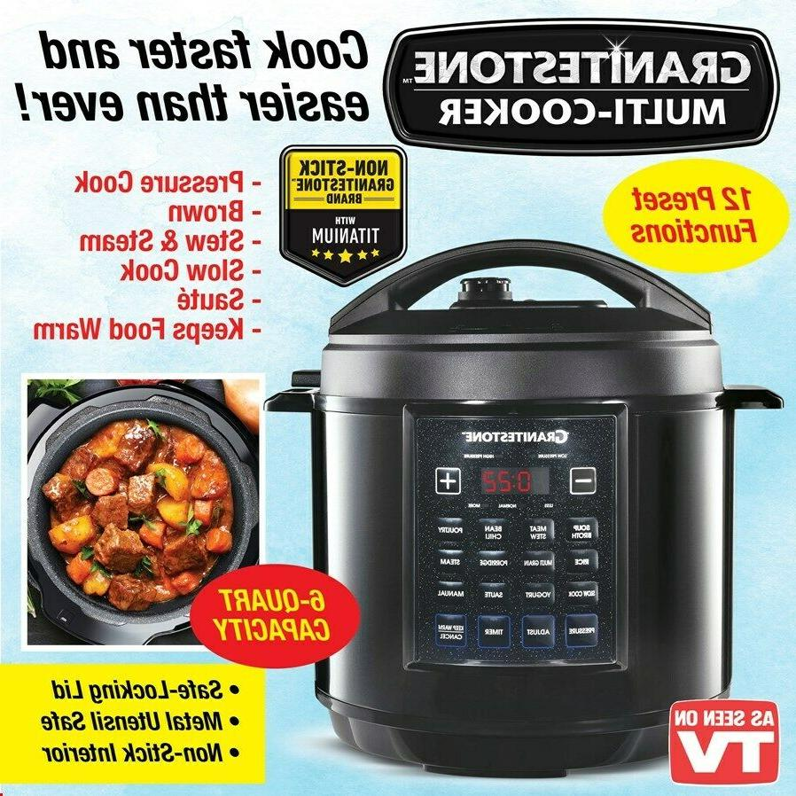 multicooker pressure cooker steamer slow cooker non