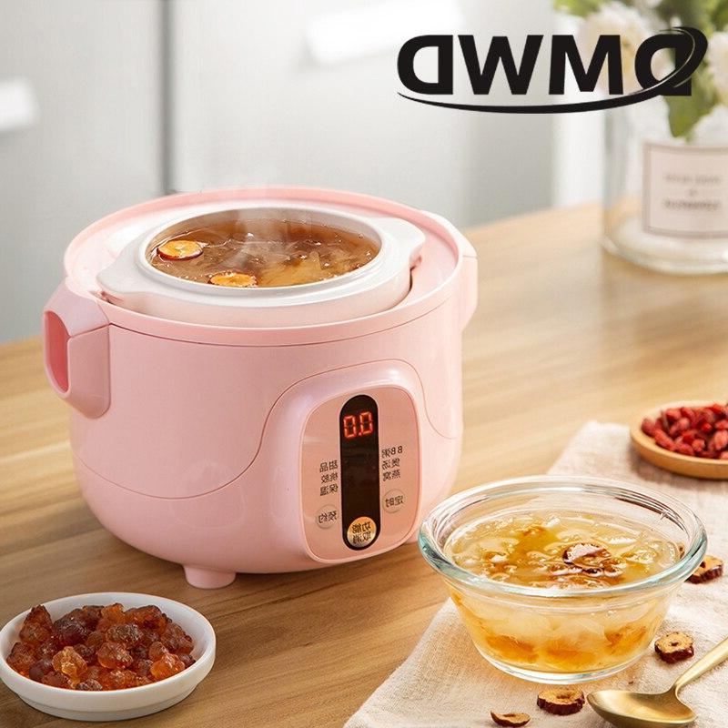 DMWD Multifunction <font><b>slow</b></font> Water Porridge Pot timing food