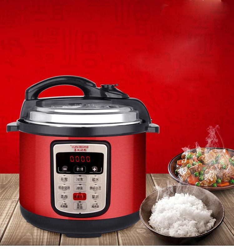 Pot Soup <font><b>Cooker</b></font> Stainless Steel Electric Heated 900W