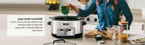 new 6 qt cooking system with auto