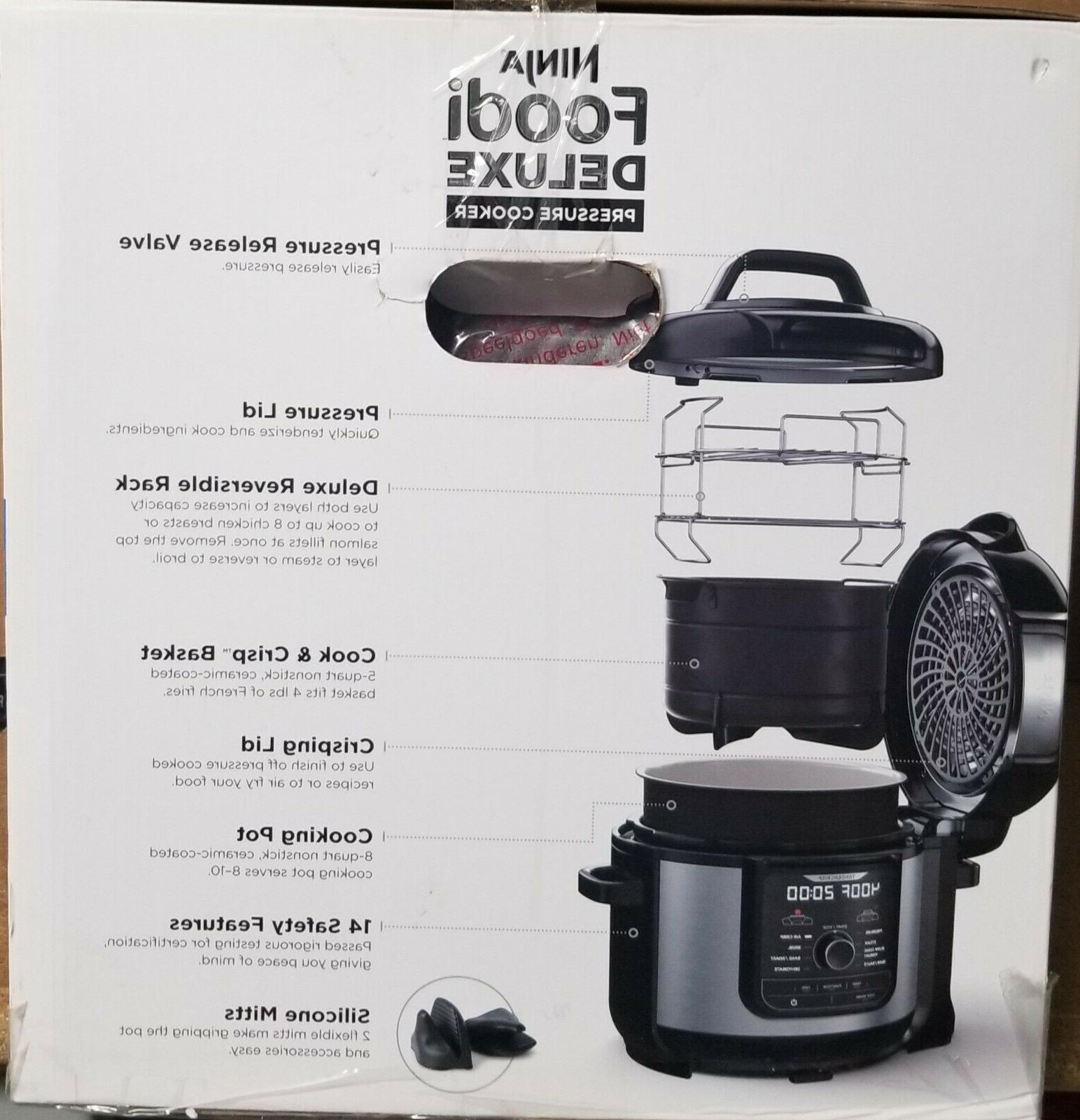 NEW Ninja Foodi 9-in-1 Cooker