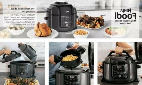 NEW! TenderCrisp Pressure Slow Cooker Fryer