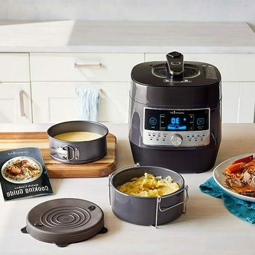 new quick cooker and accessories set free