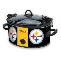 Official NFL Crock-pot Cook & Carry 6 Quart Slow Cooker -