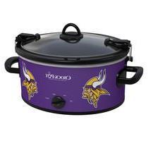 Official NFL Crock-pot Cook & Carry 6 Quart Slow Cooker