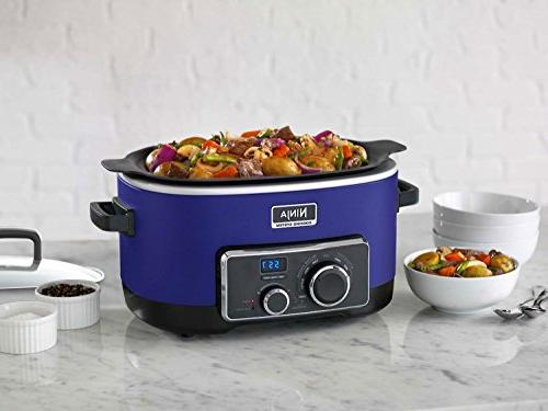 Ninja 4 In 1 Multi Cooking System Mc900q In Blue