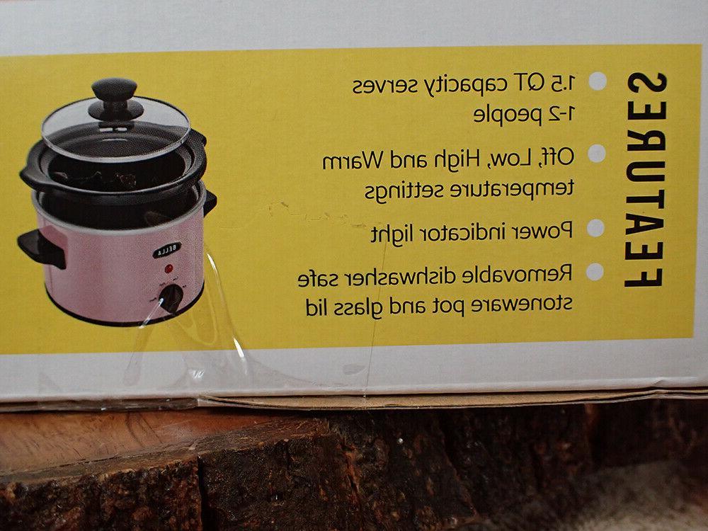 NRFB PINK Cooker Crock 1.5 Qt