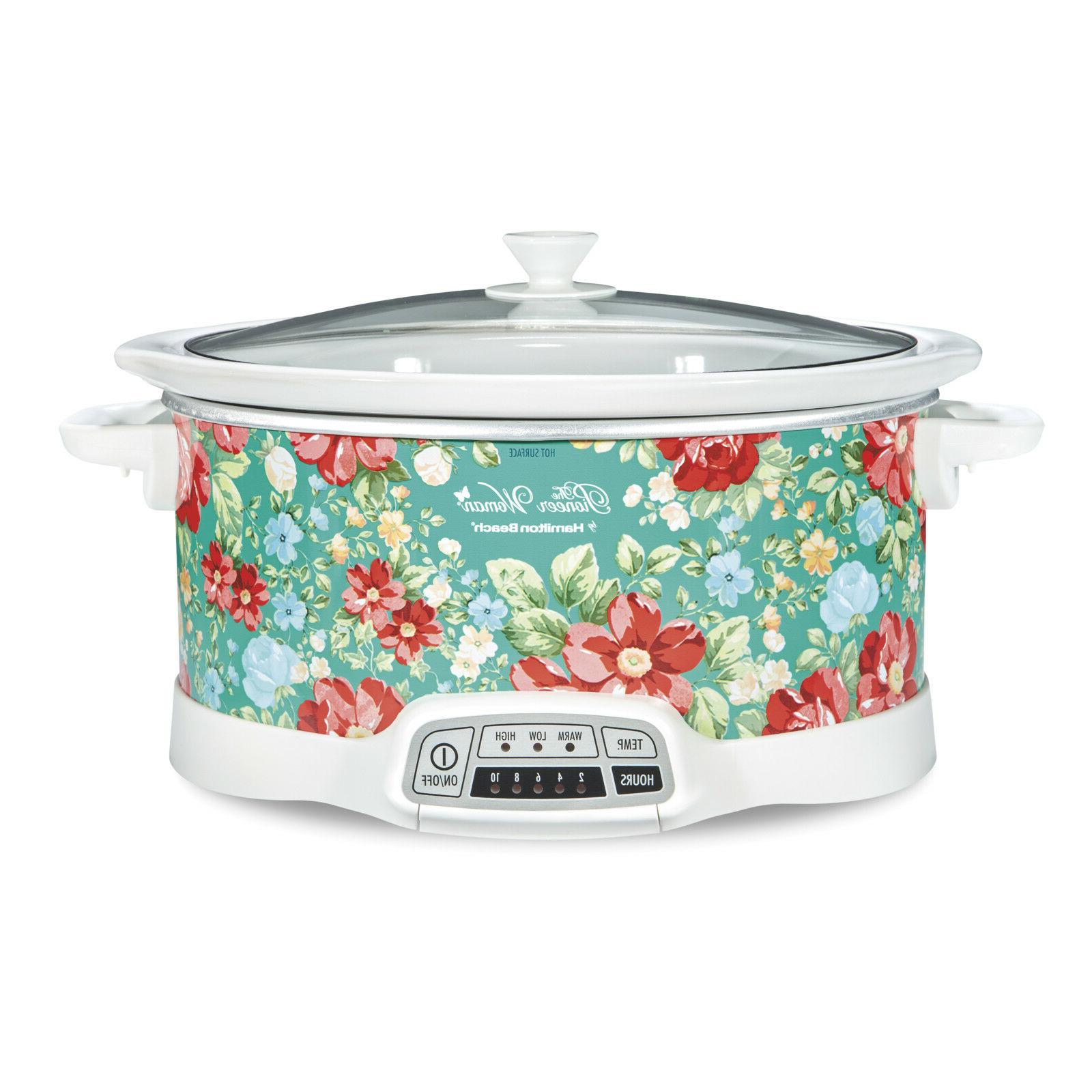 Pioneer Woman Programmable Slow Cooker Vintage by