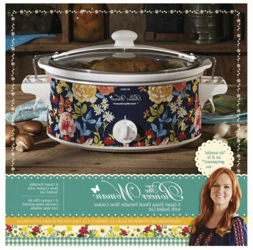 pioneer woman kitchen crock pot hamilton beach