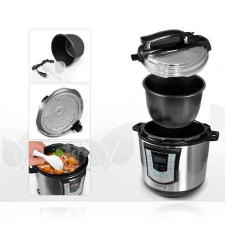 Nutrichef Digital Electronic Pressure/Slow Cooker