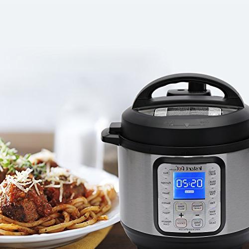 Instant Pot DUO 3 Qt Multi- Use Slow Sauté, Steamer, Warmer, and Sterilizer