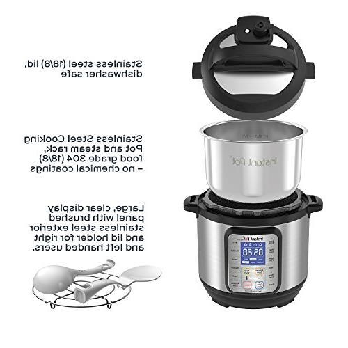 Instant Pot Plus 3 Use Slow Rice Yogurt Maker, Sauté, Sterilizer