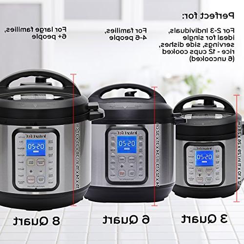 Instant Plus 8 Qt 9-in-1 Slow Cooker, Rice Yogurt Maker, Cooker, Sauté, Steamer, and Sterilizer