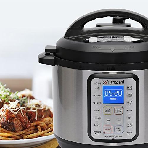 Instant Pot Plus 8 Multi- Use Programmable Pressure Cooker, Slow Cooker, Yogurt Sauté, Steamer, Sterilizer