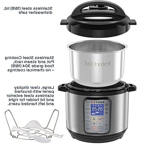 Instant 8 Multi- Use Slow Yogurt Maker, Egg Cooker, Sauté, Steamer, and Sterilizer