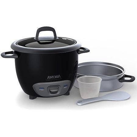 Aroma Cooker Food Black