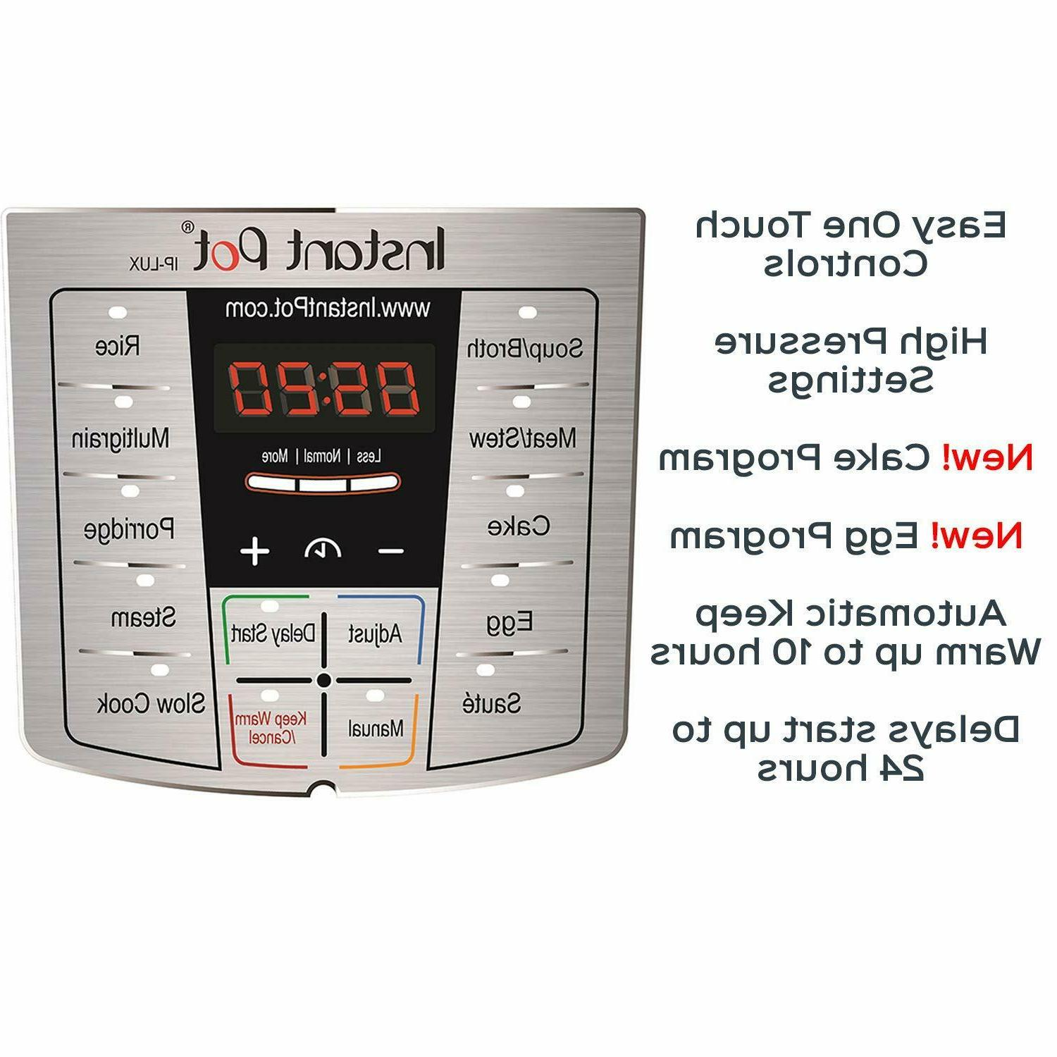 Instant 6 Qt 6-in-1 Programmable Cooker,