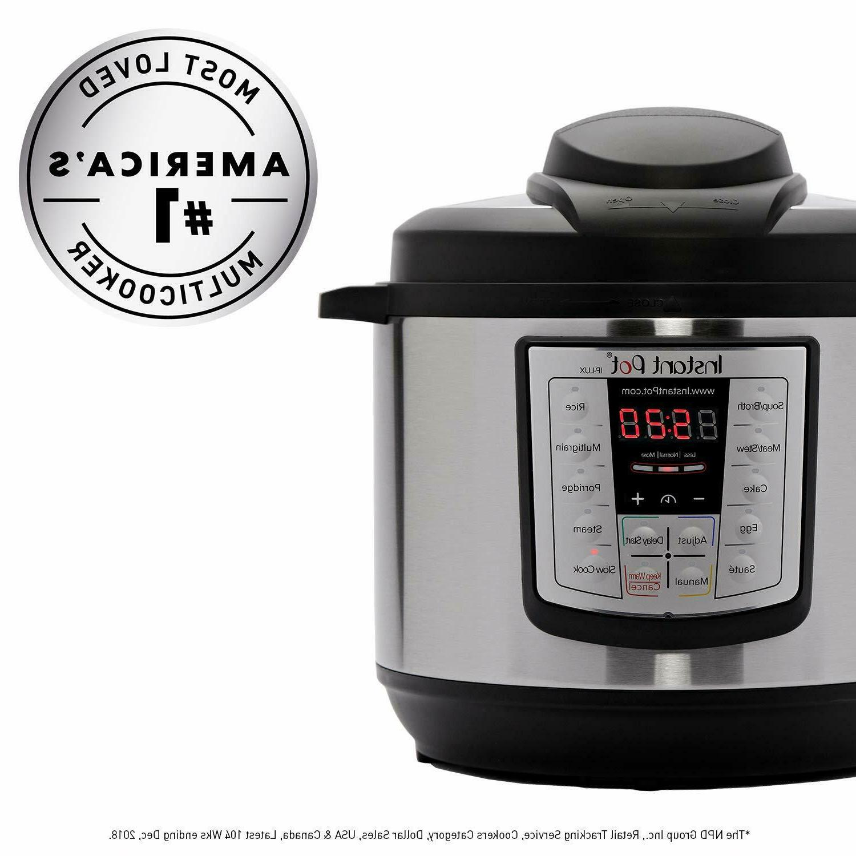 Instant Pot LUX60V3 V3 6 Qt Programmable Cooker, Slow