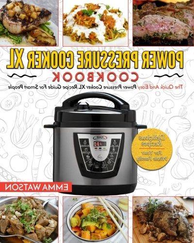 power pressure cooker cookbook quick easy recipe guide smart