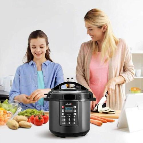 Pressure Cooker 10-in-1 Pot 19 Program