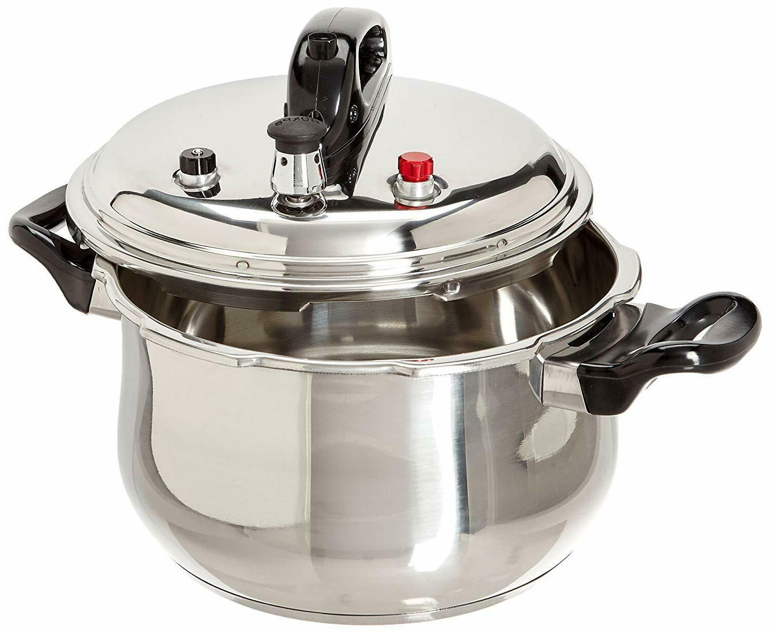 Uniware Pressure Cooker With 6 Safety Features,5.3/7.4/9.5 Q