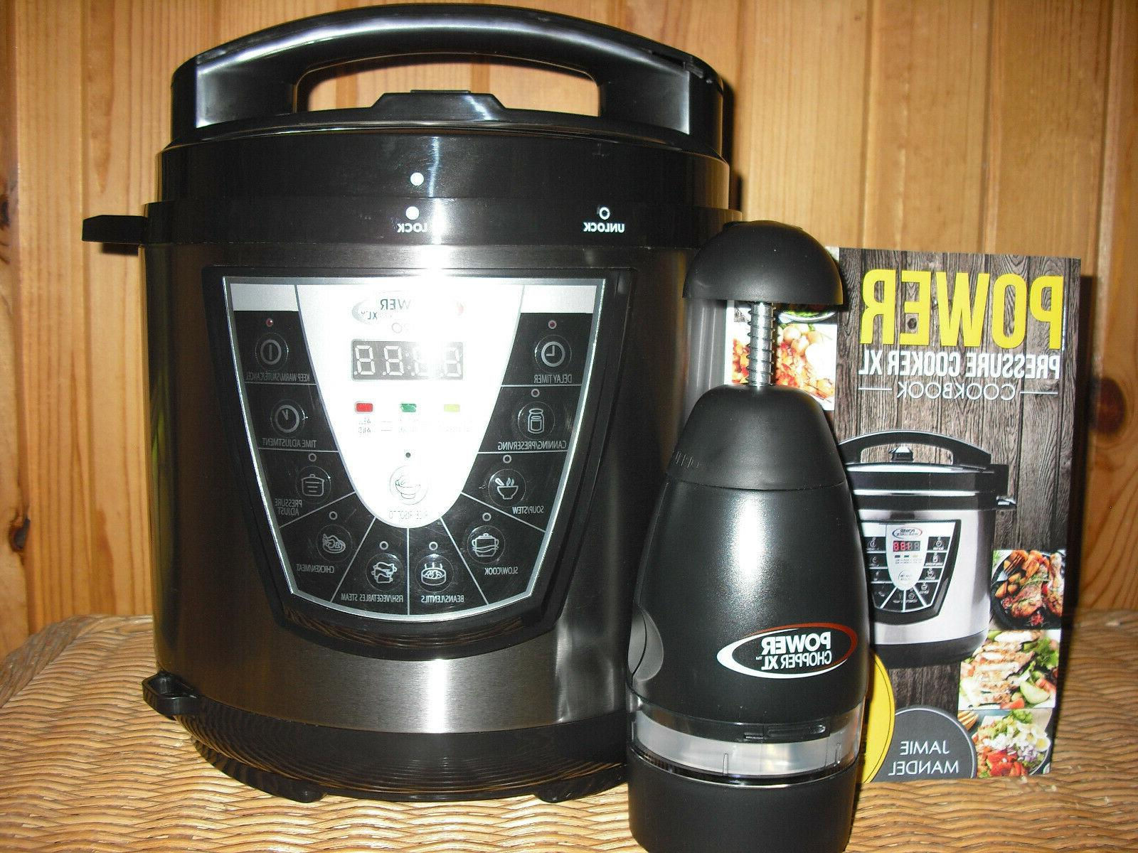 Power Pressure Cooker XL Pro 6 Qt New without box