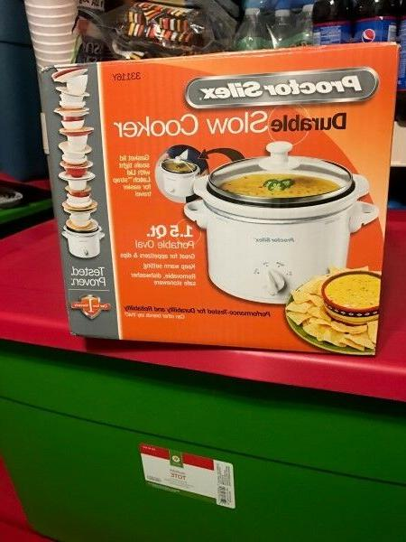 procter silex slow cooker crock pot 1