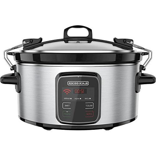 programmable crock pot 6 quart