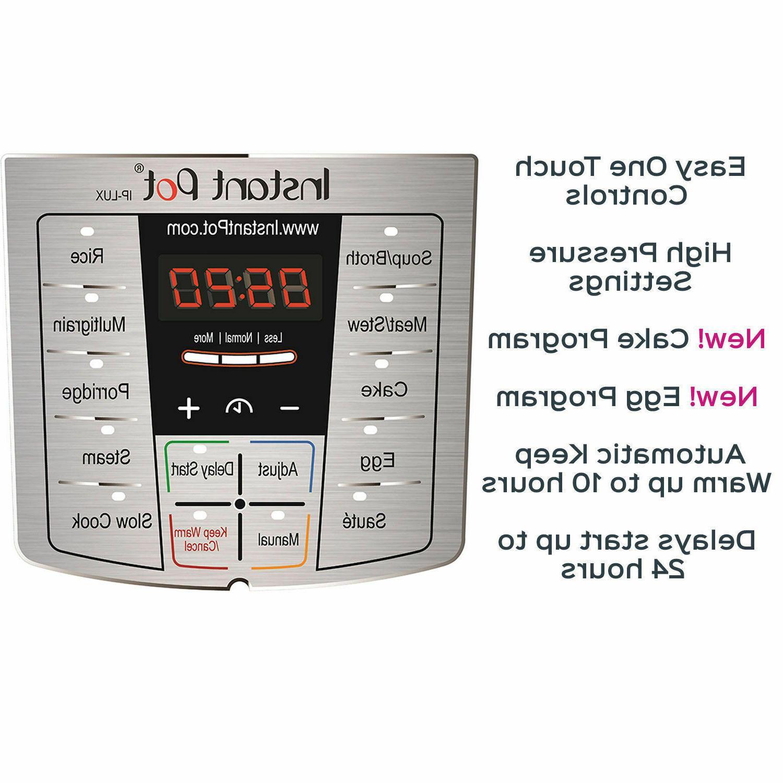 Programmable Pressure 6 Qt Rice Warm