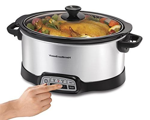 or Go® 6-qt. Slow Cooker with Side Locks