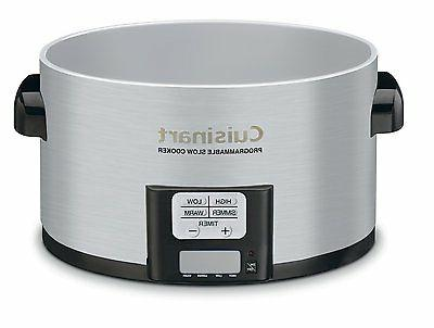 Programmable Slow w LCD Timer Shaped Ceramic Pot Touchpad