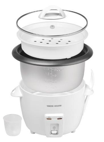 BLACK+DECKER RC3314W 8-Cup Dry/14-Cup Cooked Rice Cooker,
