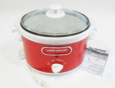 red and white 1 5 qt slow
