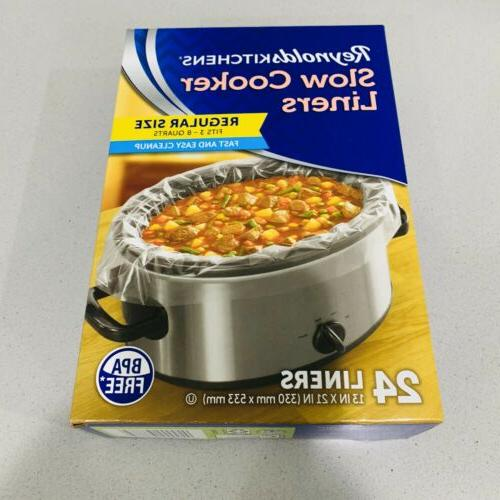 reynolds slow cooker liners 13x21 inchfit 3