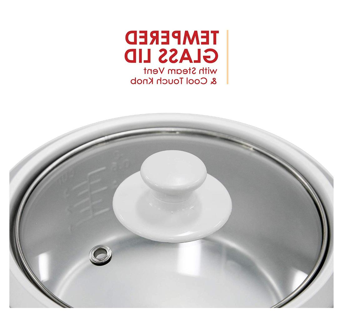 Rice Cooker 6 Food Steamer 3 Basket Bowl